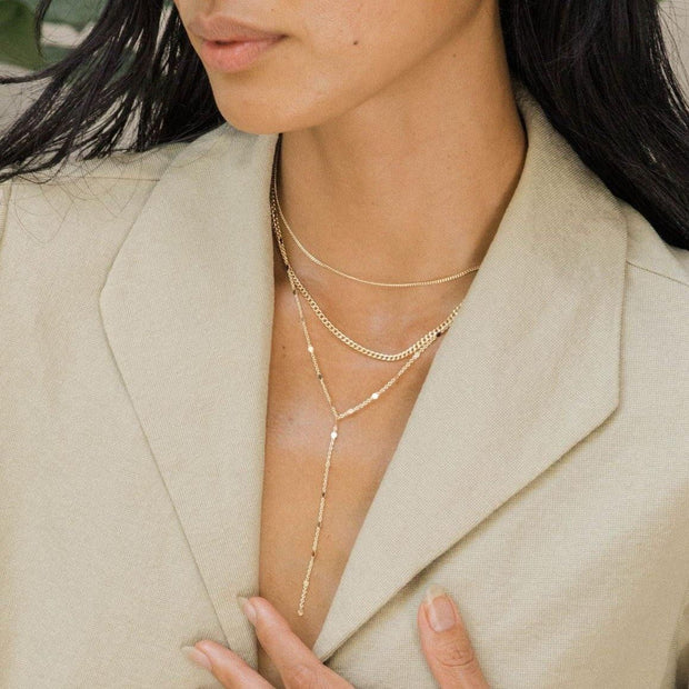 MAY MARTIN <br> Miranda Double Strand Necklace-The Shop Laguna Beach