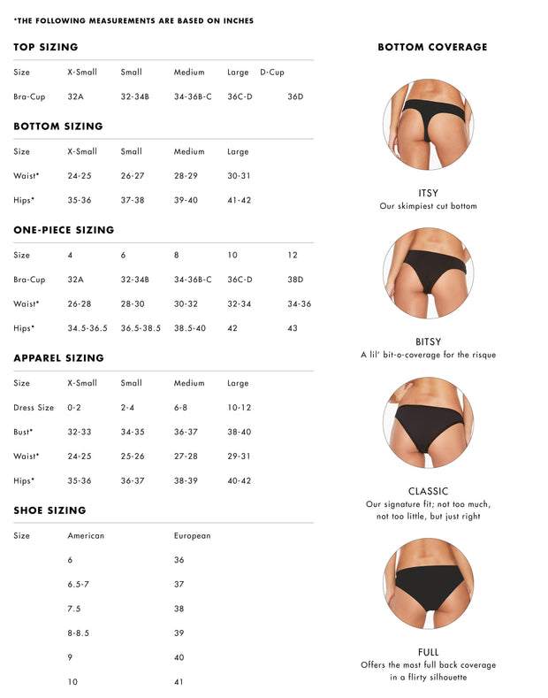 L*SPACE <BR> Frenchi Ribbed Bitsy Bottom <br><small><i> (More Colors Available) </small></i> - The Shop Laguna Beach