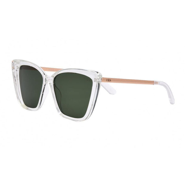 I-SEA <br> Aloha Fox Polarized Sunglasses <br><small><i> (More Colors Available) </small></i>-The Shop Laguna Beach