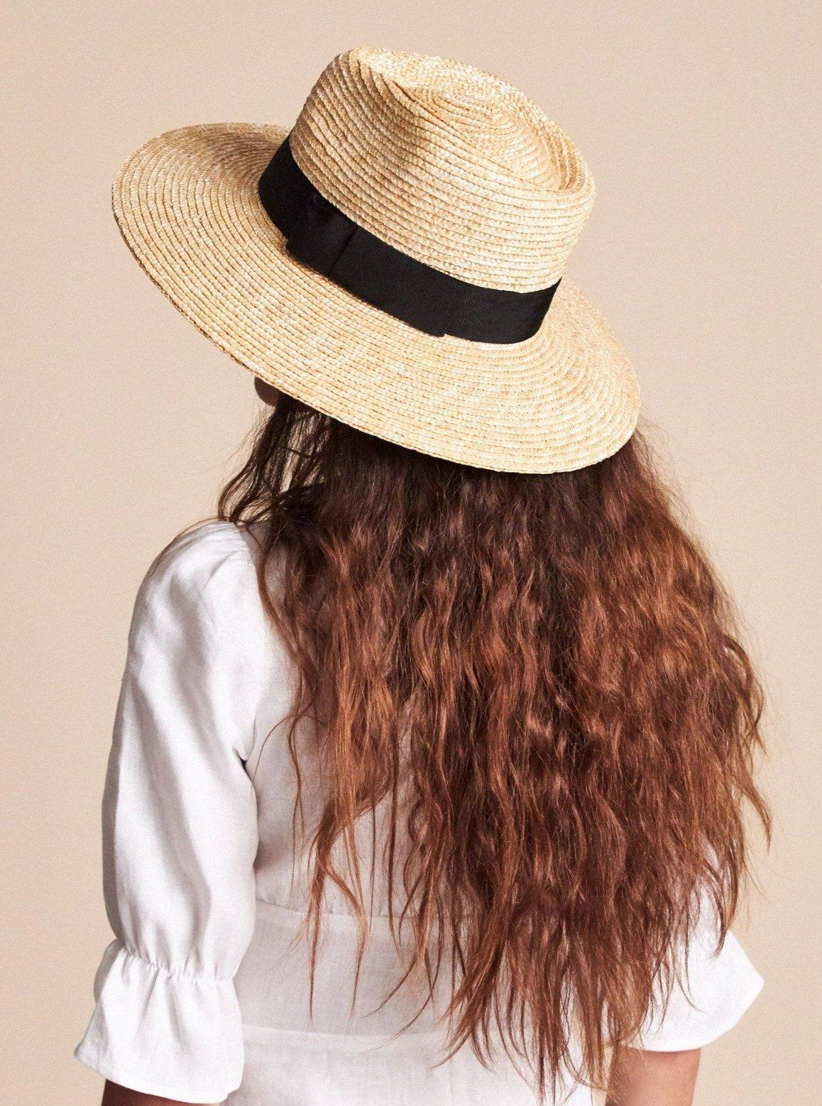 BRIXTON Joanna Straw Hat Honey