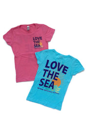 LOVE THE SEA <BR> Classic Kids Princess Tee <br><small><i> (More Colors Available) </i></small>