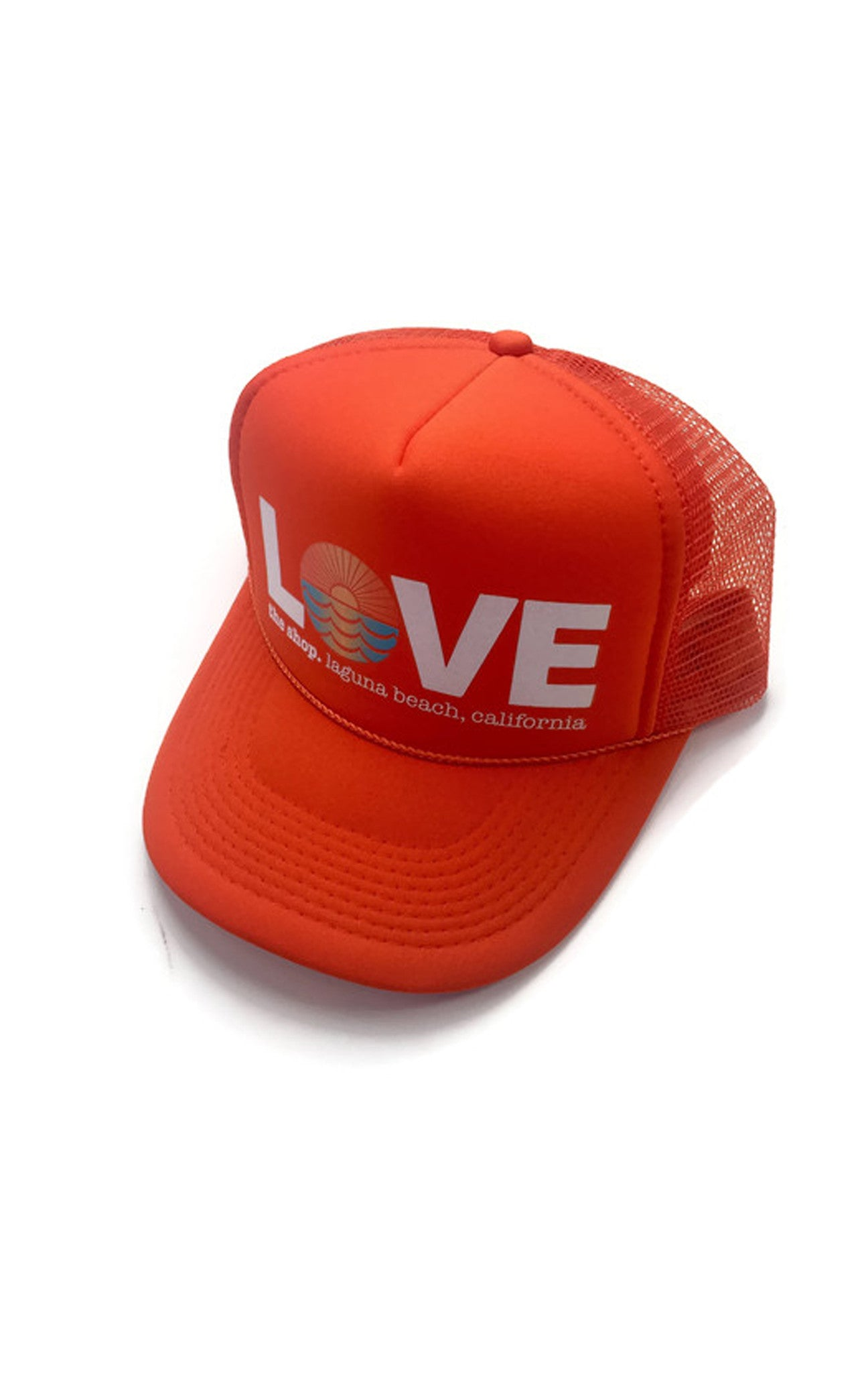 LOVE THE SEA <BR> Original Trucker Hat <br><small><i>(More Colors Available) </small></i>