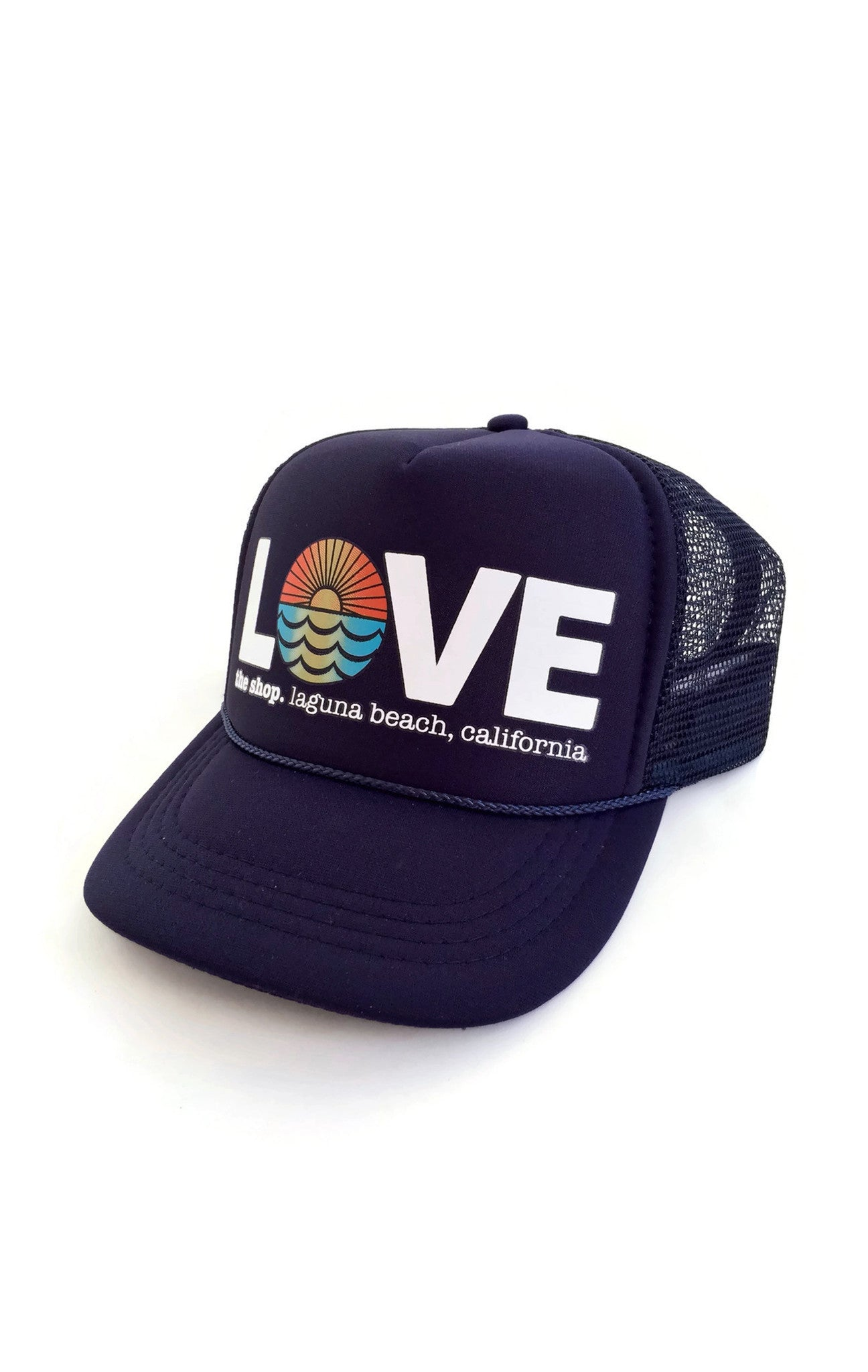 LOVE THE SEA<BR>Original Trucker Hat<br><small><i>(More Colors Available)</i></small>