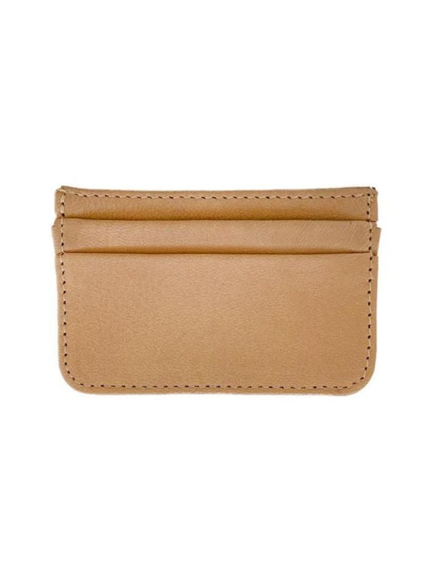 SAUDARA THE LABEL  Coco Straight-Slot Cowhide Cardholder Wallet - The Shop Laguna Beach