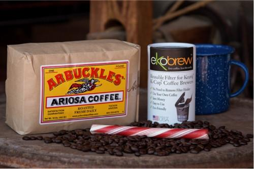 Arbuckles' Ariosa with Ekobrew K-Cup Insert
