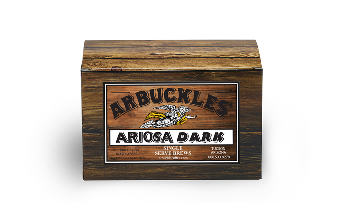 Ariosa Dark Single Serve Pods