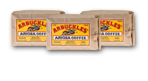 Arbuckles Ariosa 3lb Bundle