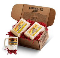 Double Ariosa Coffee & Mug 2lb Gift Box
