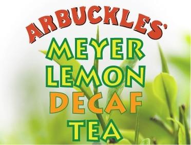 Meyer Lemon Tea Decaf