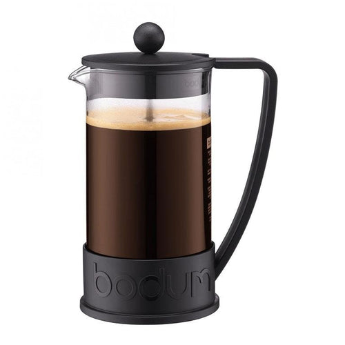 BRAZIL French Press coffee maker, Black 8 cup, 1.0 l, 34 oz