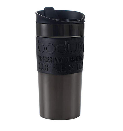 BODUM 12 oz Travel Mug in Gunmetal