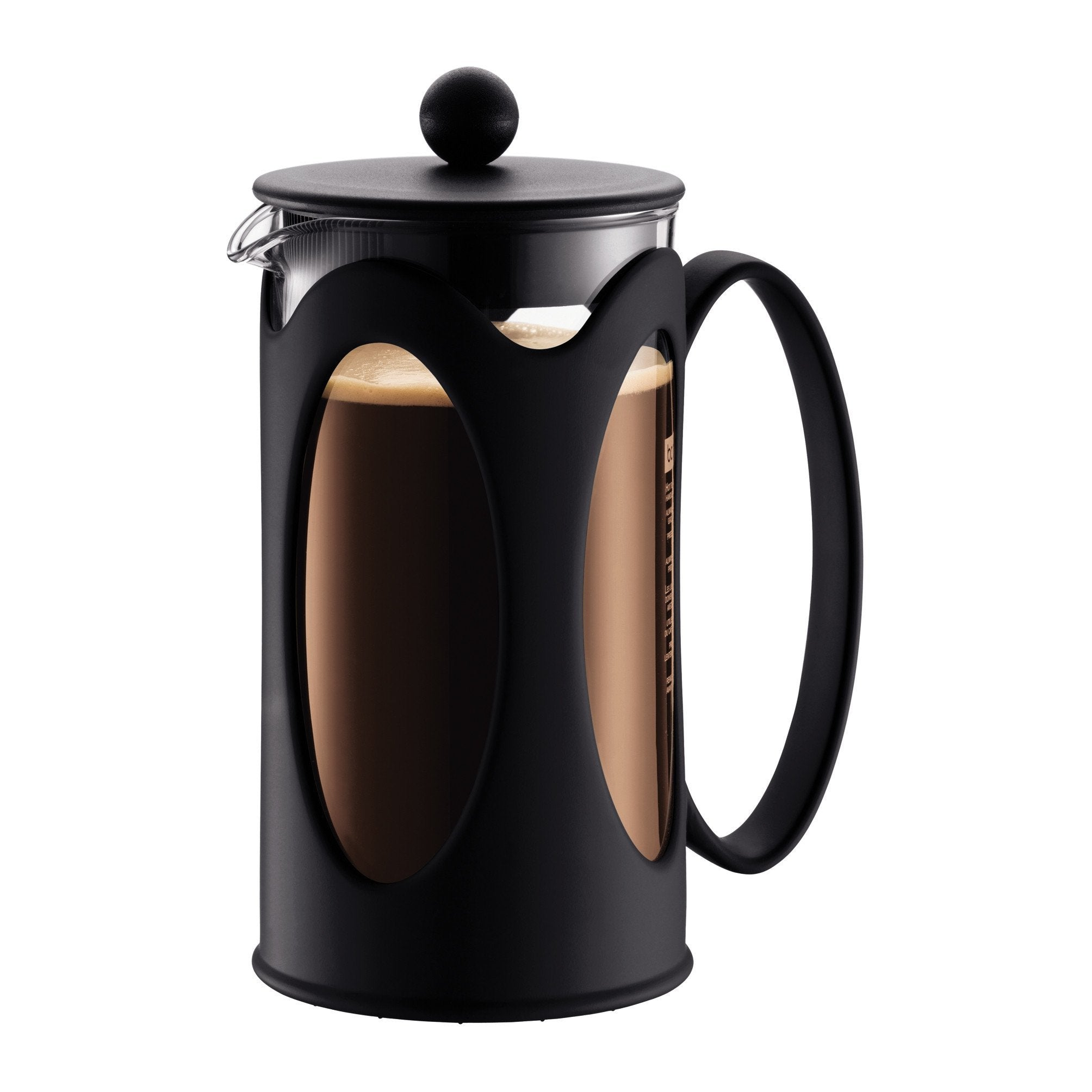 KENYA Coffee maker, Black 8 cup, 1.0 l, 34 oz