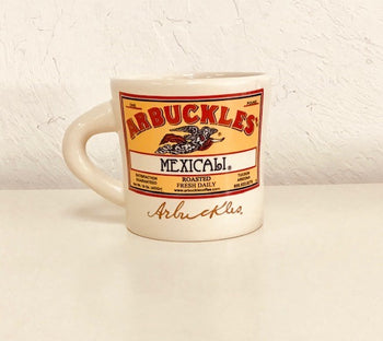 Arbuckle MEXICALI Texas Style Mug in TAN 14oz