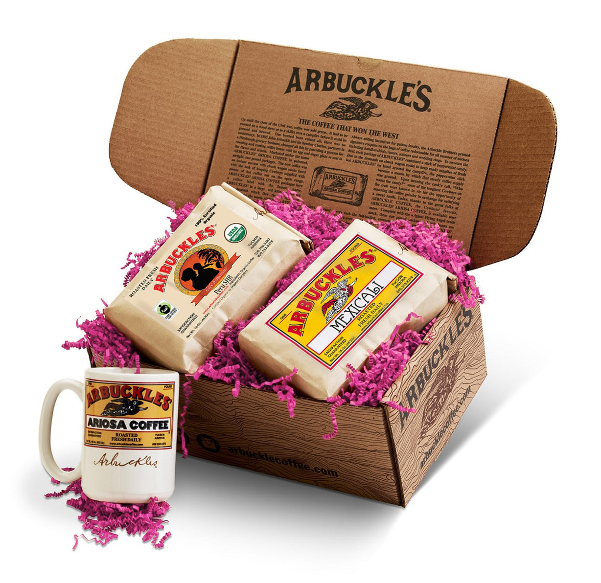 Mother's Day Gift Box Cafe Femenino & Flavored Coffee & Mug