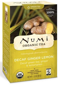 Decaf Ginger Lemon