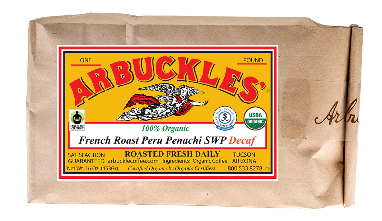 Organic French Roast Peru Penachi Swiss Water Process Decaf