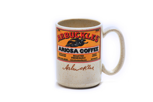Factory 2nd:  Arbuckle's Ariosa Mug 15oz Desert Beige Limited Edition