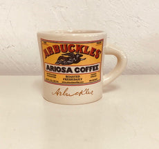 Arbuckle Ariosa Texas Style Mug in TAN 14oz