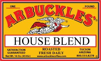 Arbuckles' House Blend