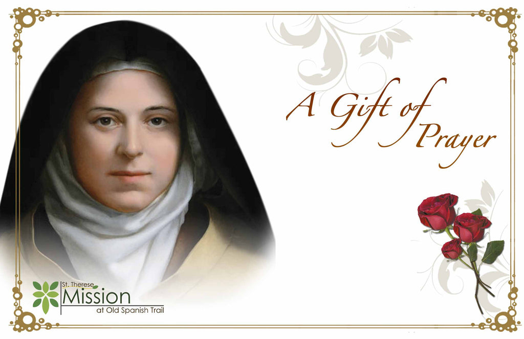 Prayer to st therese for healing
