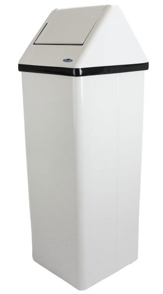 300 NL Free Standing Waste Receptacle - National Washroom Supply