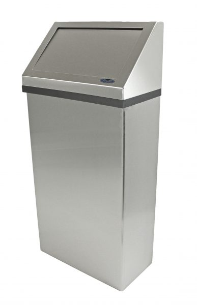 303-3NL WALL MOUNTED WASTE RECEPTACLE - National Washroom Supply
