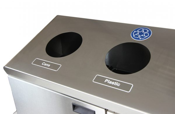 316 SERIES RECYCLING STATION – FLOOR STANDING - National Washroom Supply