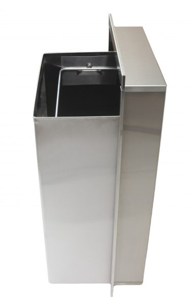 337 – SEMI RECESSED WASTE RECEPTACLE - National Washroom Supply