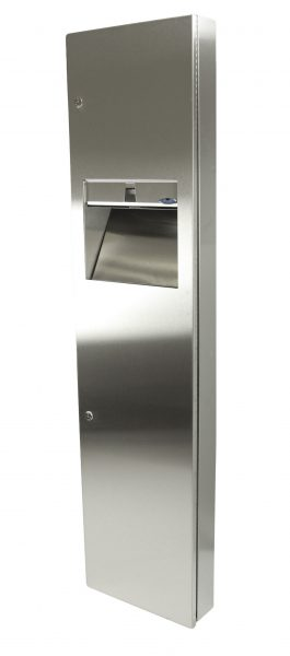 400-14 SERIES COMBINATION DISPENSER/DISPOSAL FIXTURES - National Washroom Supply