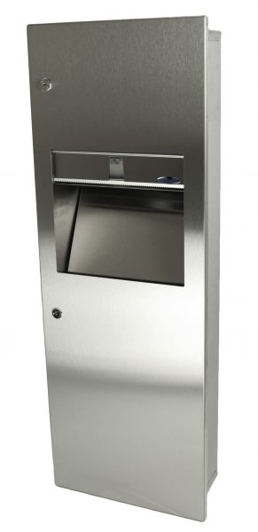 410-14 SERIES COMBINATION DISPENSER/DISPOSAL FIXTURES - National Washroom Supply