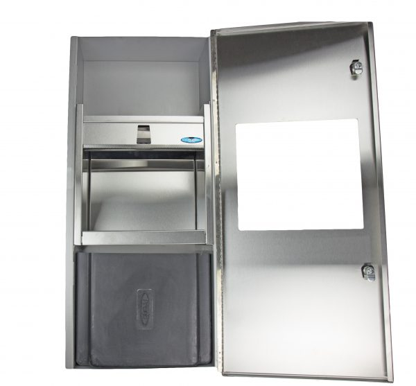 415-14 SERIES COMBINATION DISPENSER/DISPOSAL FIXTURES - National Washroom Supply