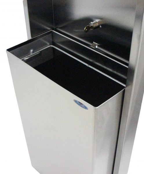 422-60 SERIES COMBINATION TOUCH FREE TOWEL DISPENSER/WASTE RECEPTACLE - National Washroom Supply