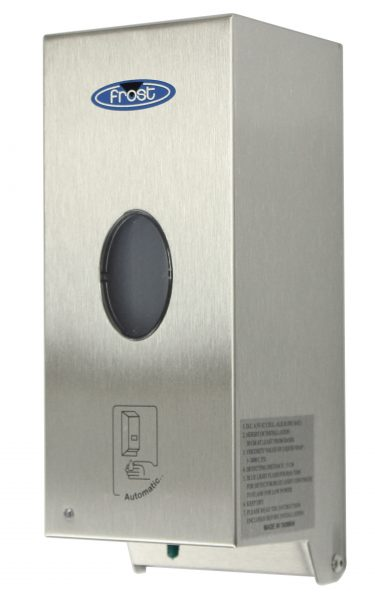 714-S – TOUCH FREE SOAP/SANITIZER DISPENSER - National Washroom Supply