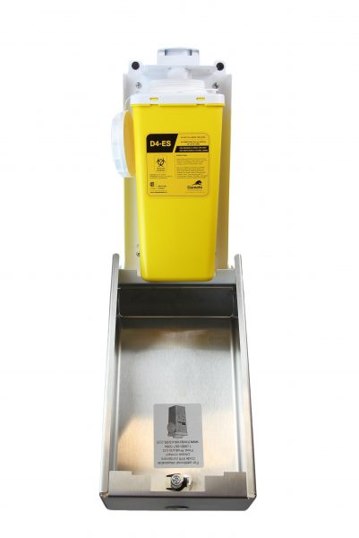 878 – STAINLESS STEEL BIOMEDICAL SHARPS DISPOSAL - National Washroom Supply