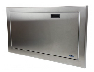 1124-S Stainless Steel Baby Changing Station - National Washroom Supply