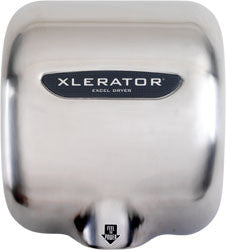 Xlerator Hand Dryer - Satin Brush (SB) - National Washroom Supply