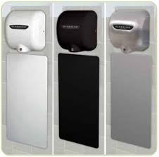 Xlerator Hand Dryer Wall Guards - National Washroom Supply