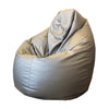 Large Metallic Vinyl Beanbag