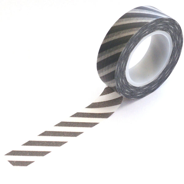 washi tape - grey stripes