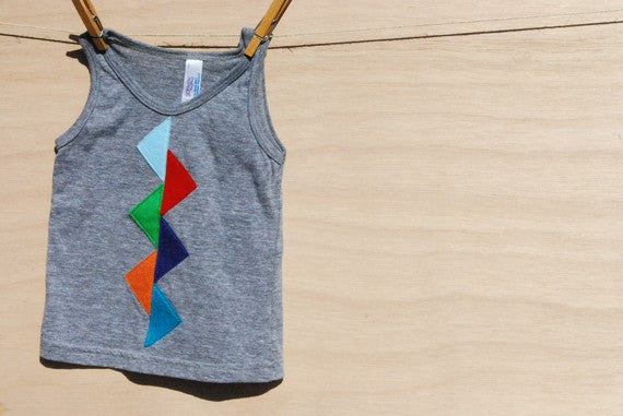 color me happy tank / singlet top