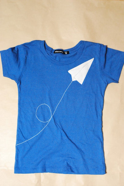 flight of the paper airplane t
