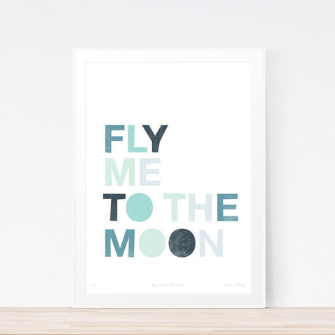 'Fly Me To The Moon' art print