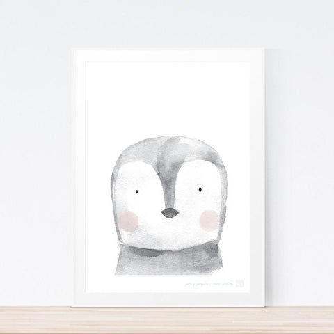 'Percy Penguin' art print