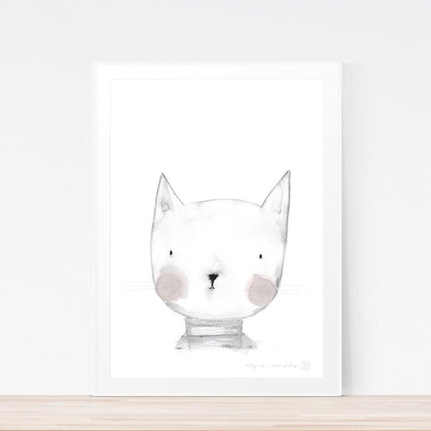'Kitty Kat' art print
