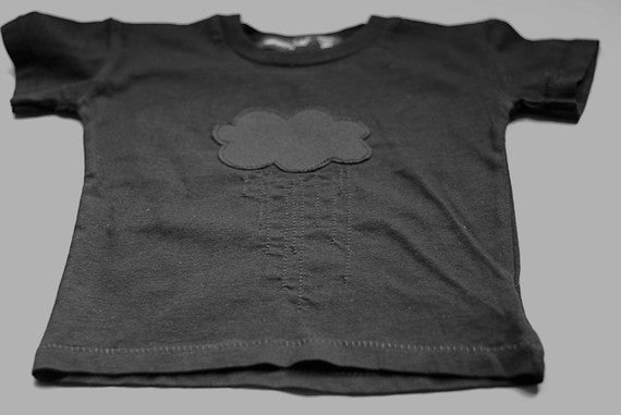 little black rain cloud t