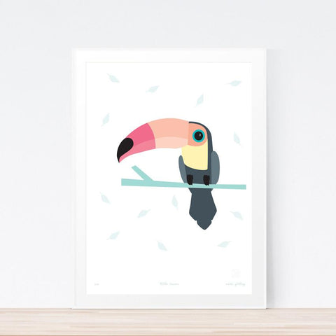 'Little Toucan' art print