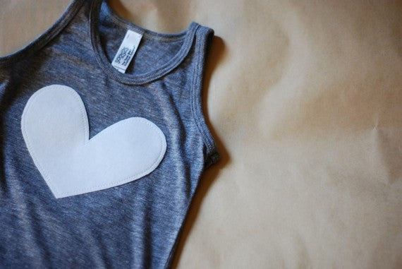love is simple tank / singlet top