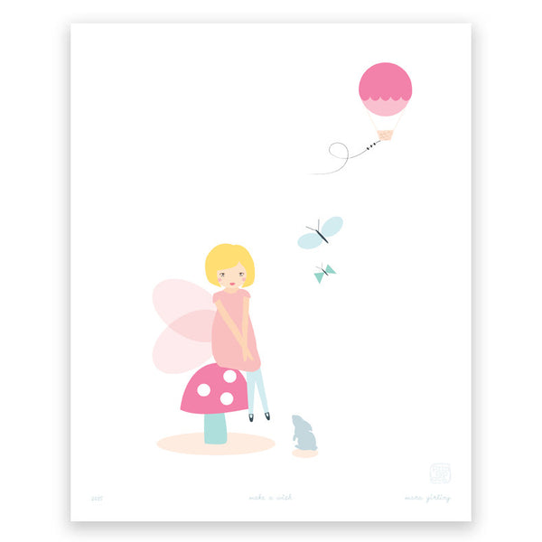 'Make a Wish' art print