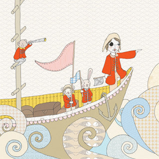 'isabel and her pirate ship' large print