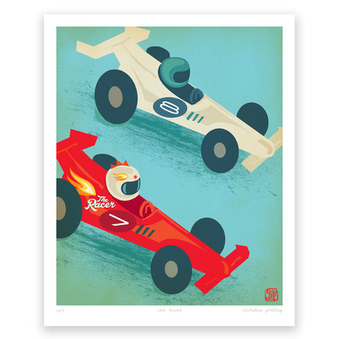 'Racer Car' art print